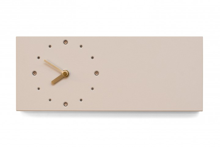 Elongated Wall Clock, Mushroom