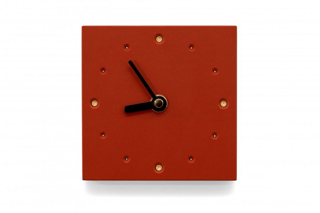 Square Wall Clock, Salsa