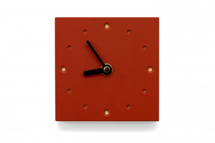 Square Wall Clock, Salsa