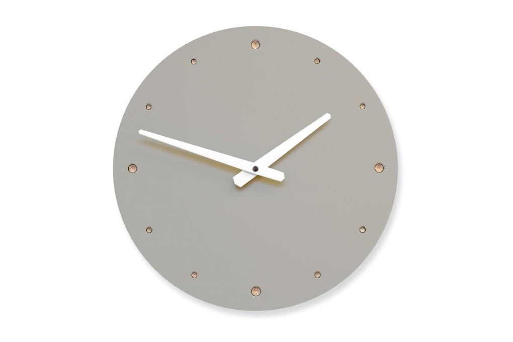 Wall Clock Mushroom, round