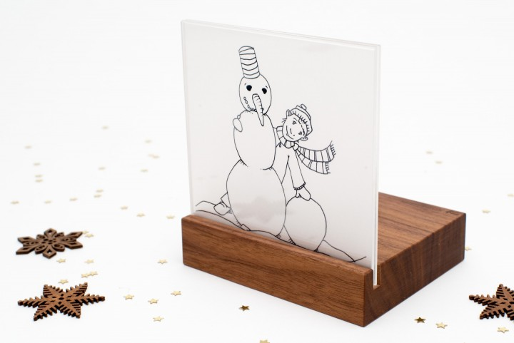 Nativity Scene Mini Snowman
