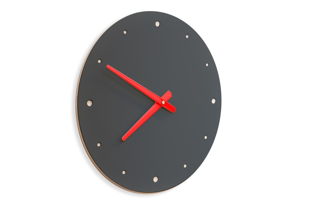 wall clock silent outstanding wooden. Black Bedroom Furniture Sets. Home Design Ideas