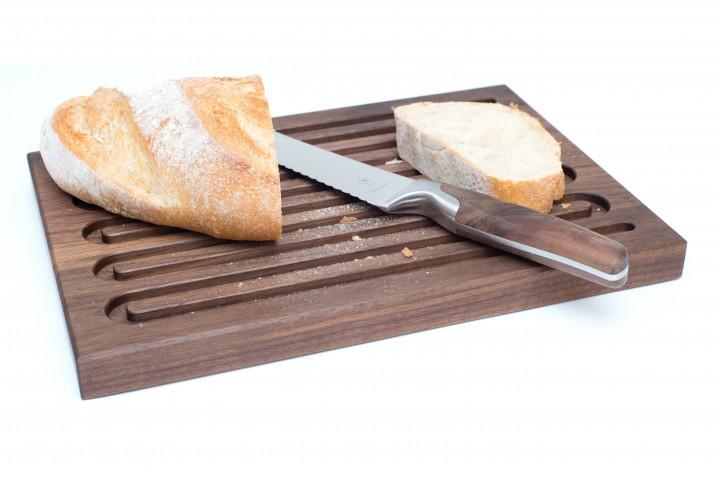 Grooved Bread Board Nut Wood