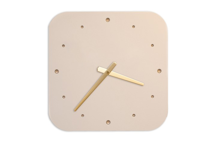 Wall Clock Mushroom, rounded off