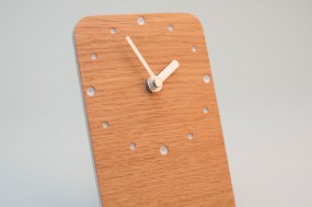 Table Clock Oak