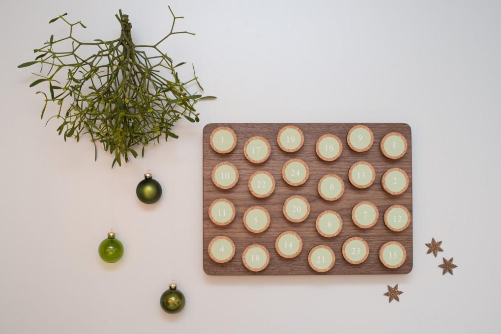 Advent Calendar Nut Wood Klotzaufklotz Com Outstanding Wooden Products