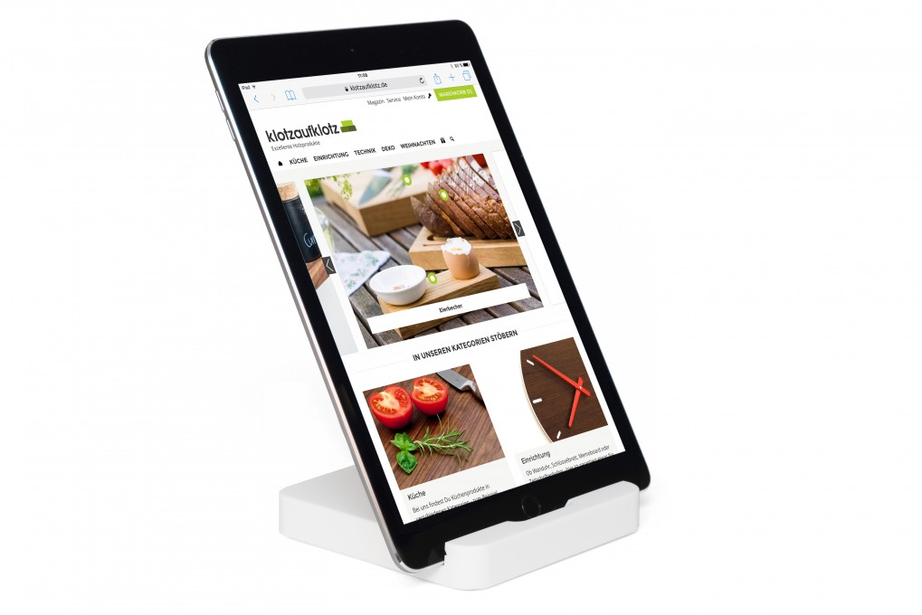 Tablet Stand White
