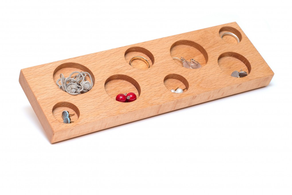 Jewellery Storage Beech