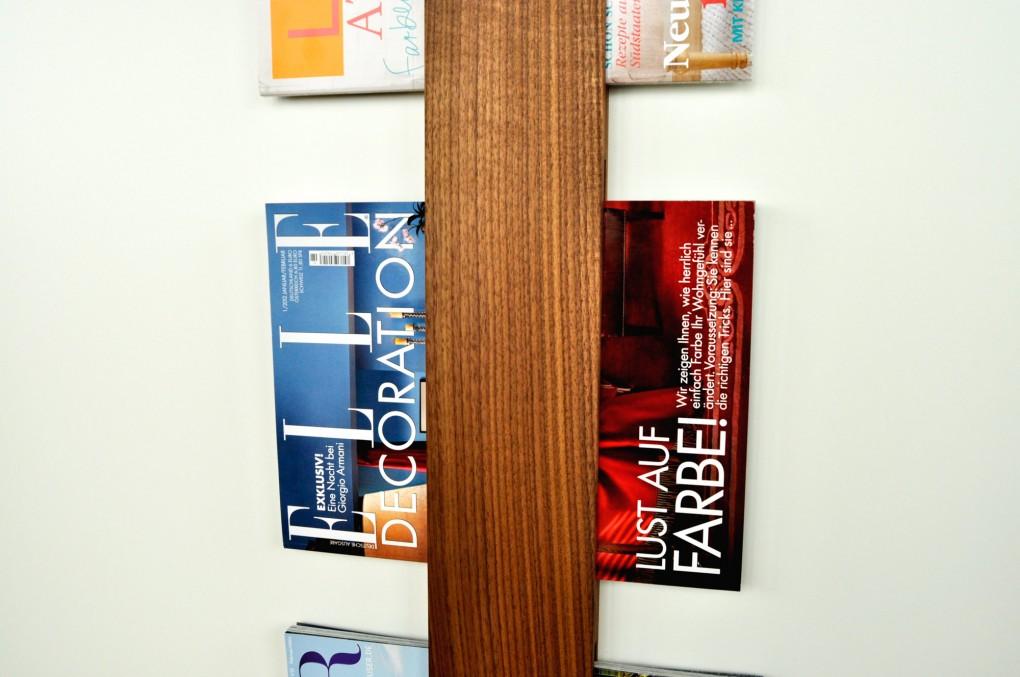 Newspaper And Magazine Rack Klotzaufklotz Com