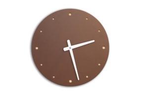 Wall Clock Mauve, round