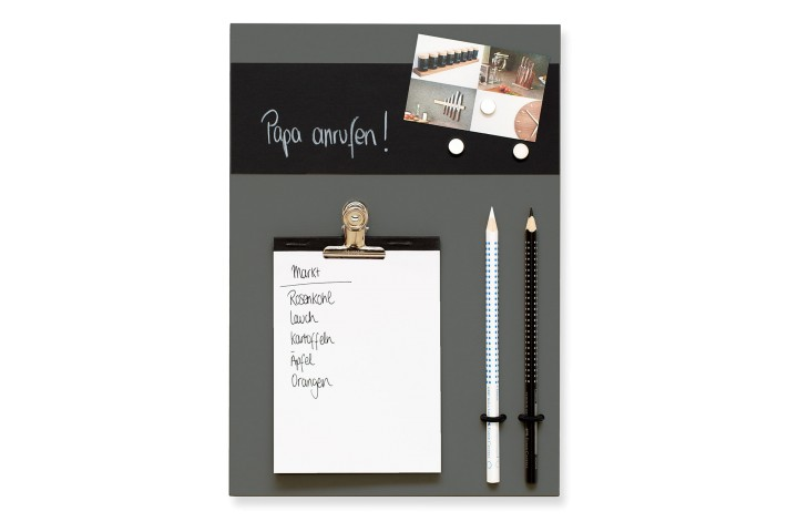Small Memoboard Pewter