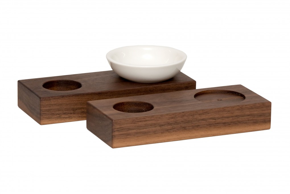 Egg Cup Nut Wood