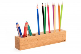 Pencil Holder Oak