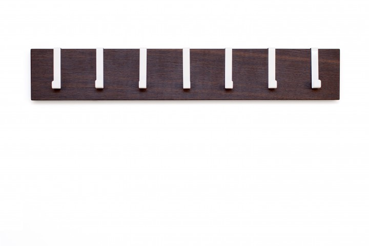 Coat Rack Fumed Oak