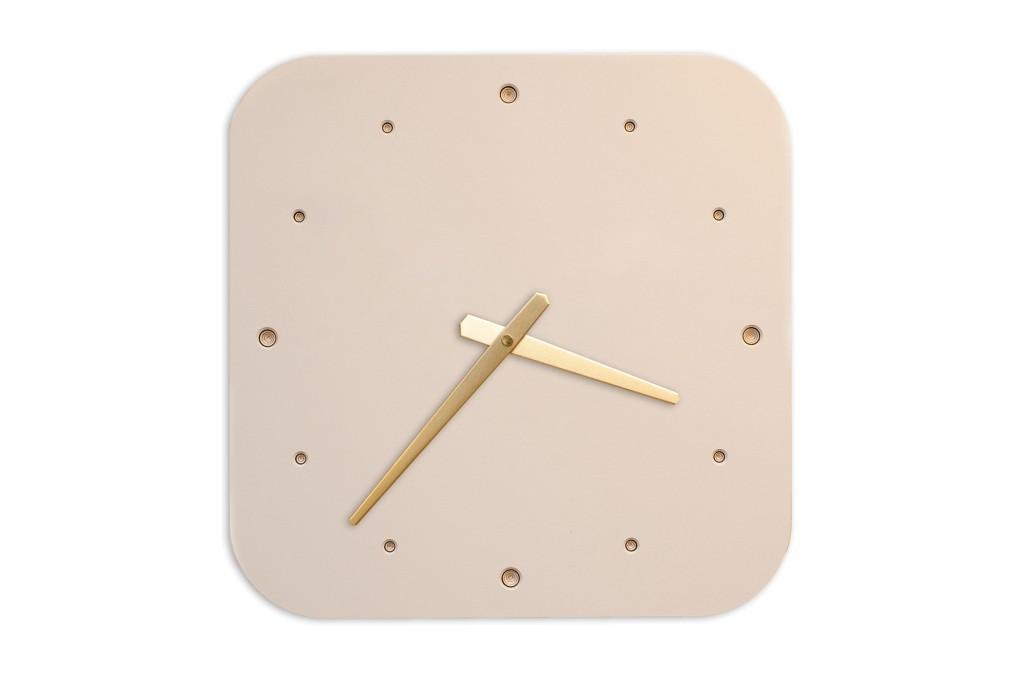 Wall Clock Mushroom, rounded off