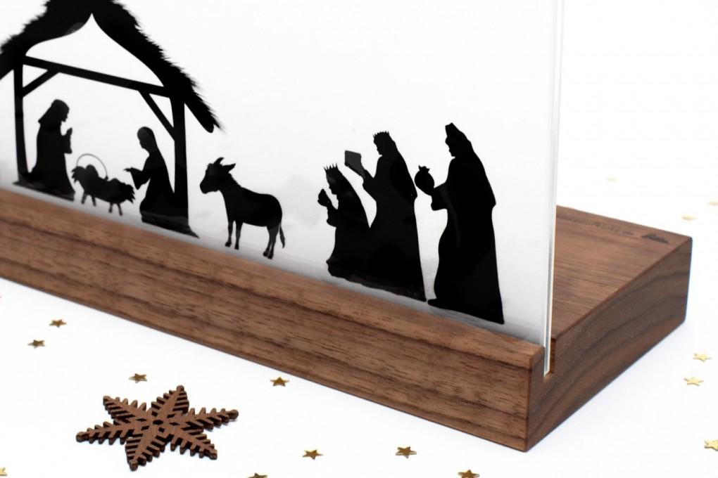 Nativity Scene Klotzaufklotz Com Outstanding Wooden
