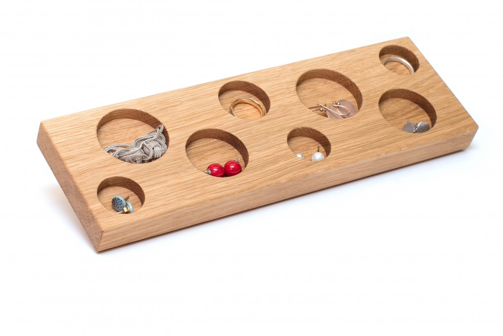 Jewellery Storage Oak