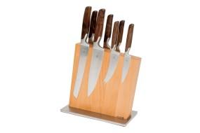 Knife Block Beech, empty