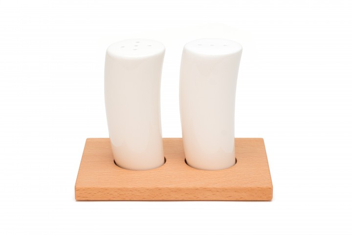 Salt and Pepper Shaker Beech, small