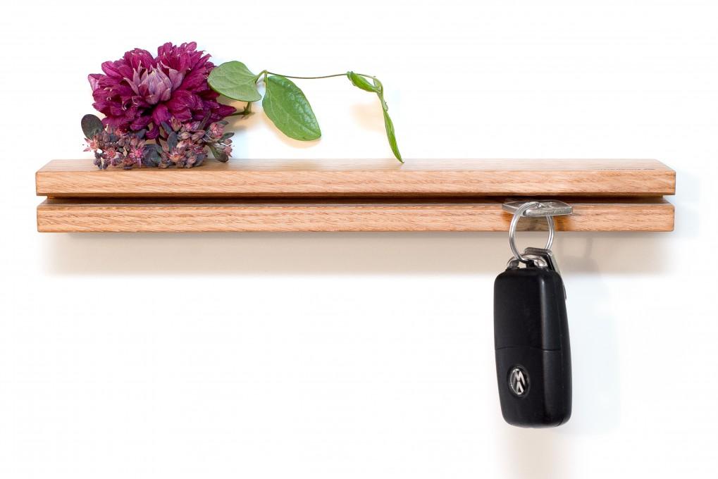 Wall Key Holder Oak