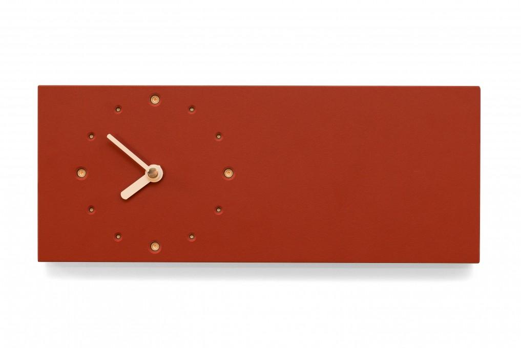 Elongated Wall Clock, Salsa