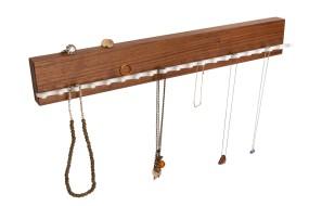 Jewellery Rack Nut Wood