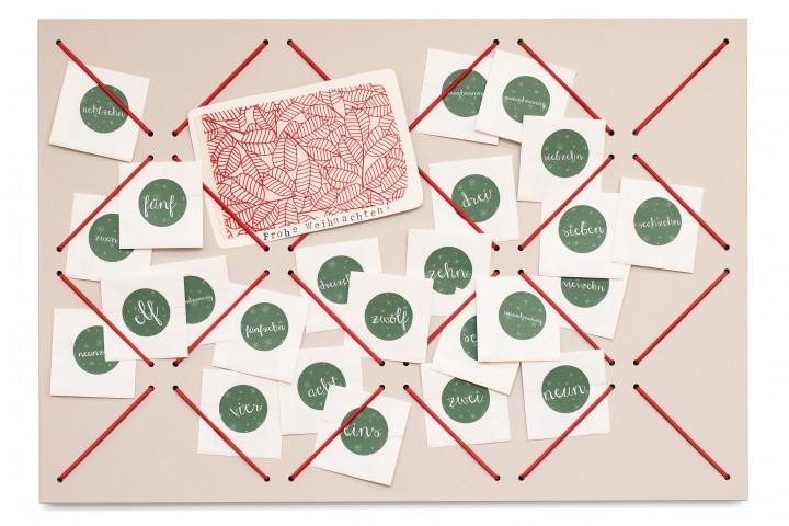 Advent Calendar Strings Mushroom