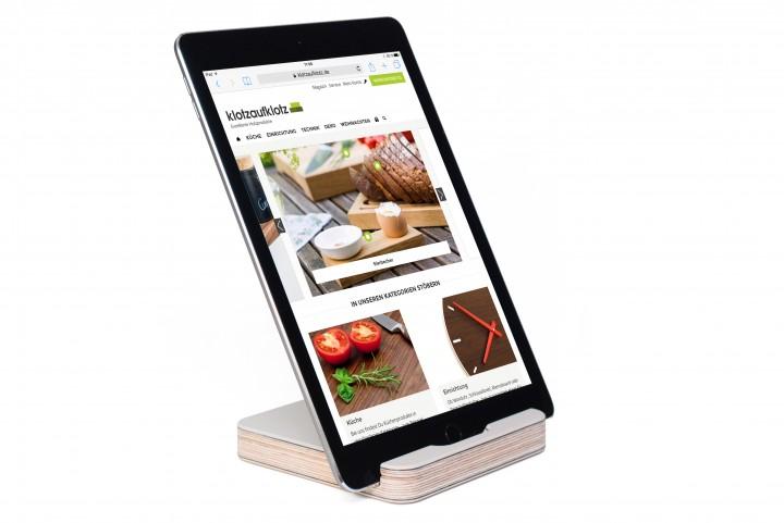 Tablet Stand Linoleum, Mushroom