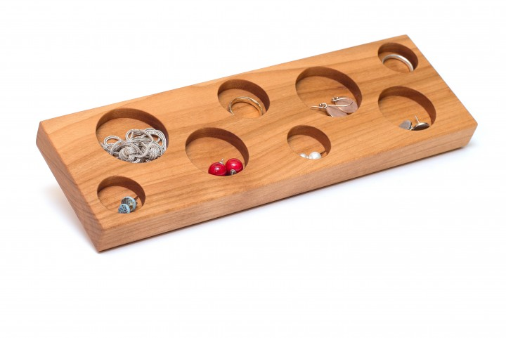 Jewellery Storage Cherry Wood