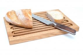 Grooved Bread Board Oak