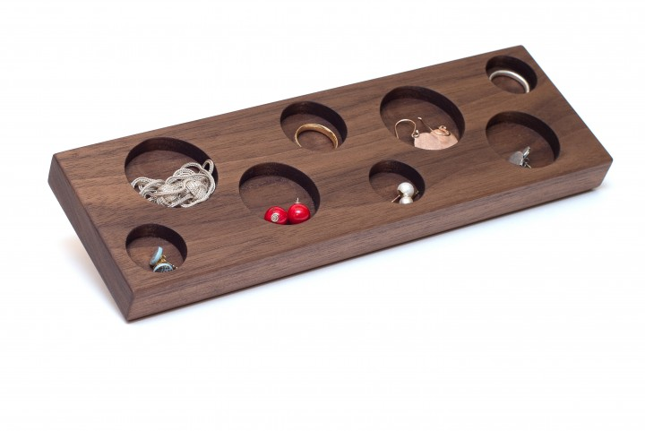 Jewellery Storage Nut Wood