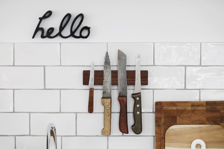 In the Wild: our Knife Rack